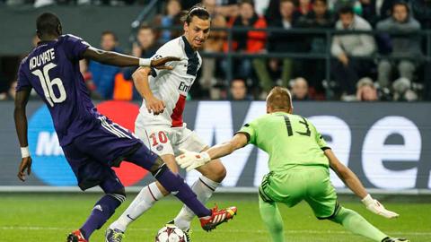 Ibrahimovic chỉ thiếu 1 bàn để đi vào lịch sử PSG
