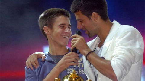 Djokovic sẽ chơi cùng người em Djordje tại China Open