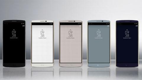 LG ra mắt LG V10 độc đáo với 2 màn hình và cụm camera selfie kép