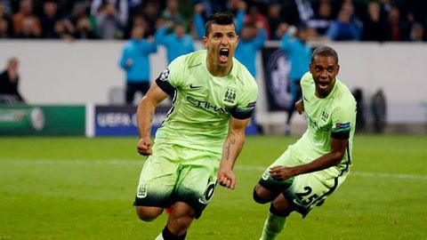 Man City thắng trận, HLV Pellegrini tâng bốc Aguero và Hart lên mây