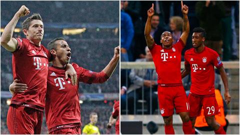 Bayern đá bóng hay đang dạo chơi ở Champions League?