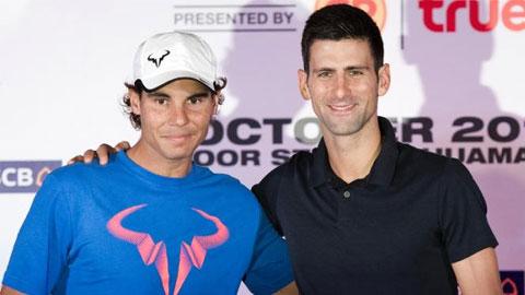Djokovic 'đại chiến' Nadal tại Bangkok