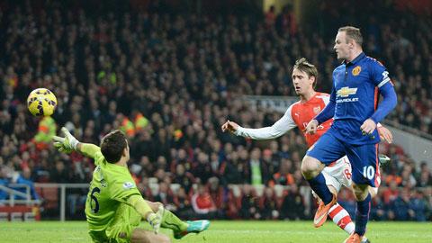 Rooney sa sút chắc Arsenal mừng lắm
