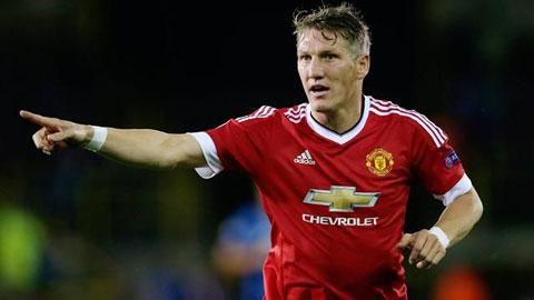 "Schweinsteiger mang ""tinh thần Fergie"" trở lại M.U"