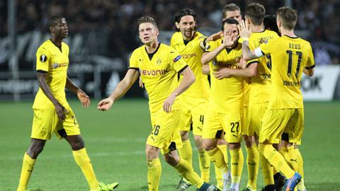 Dortmund bị PAOK cầm hòa đáng tiếc trước đại chiến với Bayern Munich