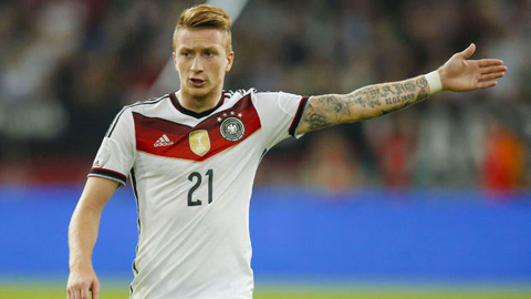 Reus trở lại ĐT Đức, thủ môn Bernd Leno lần đầu lên tuyển