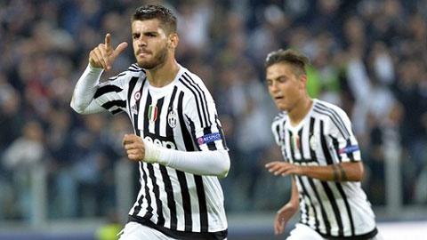 Hàng công Juventus: Cặp Morata-Dybala trên đường thành huyền thoại