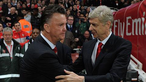 Van Gaal tâng bốc Wenger trước đại chiến Arsenal – M.U