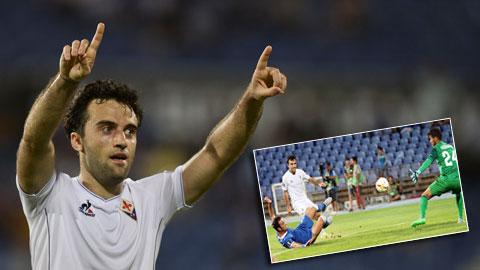 Giuseppe Rossi ghi bàn sau 501 ngày: Bình minh chào Pepito!