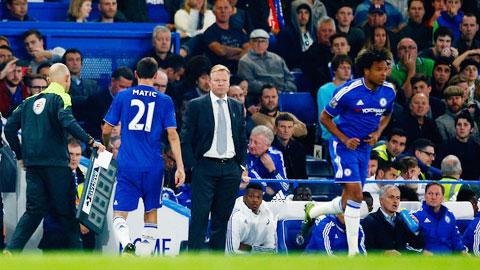 Mourinho giải thích lí do thay Matic sau chưa đến 30 phút