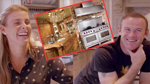 Xây nhà bếp 150.000 bảng, Rooney vẫn ra ngoài ăn