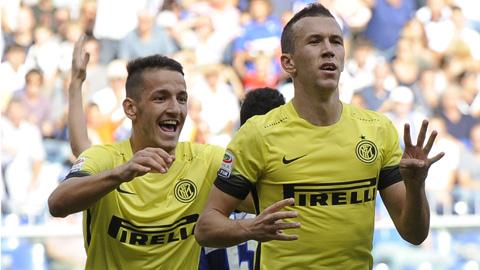 Giành 1 điểm tại Sampdoria, Inter thoát thua nhờ Perisic