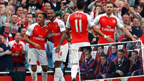 Ảnh chế trận Arsenal 3-0 M.U của cộng đồng mạng