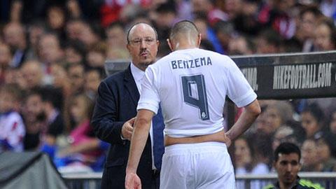 Benzema chê trách chiến thuật nhàm chán của Benitez