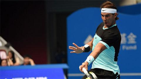 Nadal nhọc nhằn vào tứ kết China Open