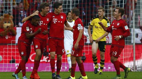 Bayern đang hướng tới sự hoàn hảo