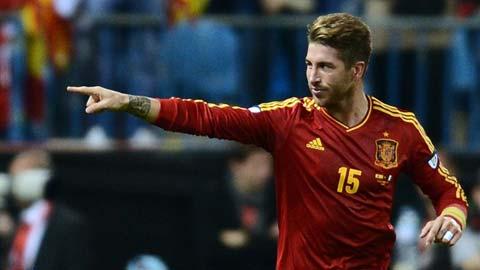 HLV Del Bosque triệu tập tài năng trẻ Real thay Ramos