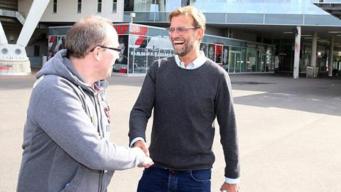 Liverpool sẽ có Juergen Klopp vào thứ Sáu tới