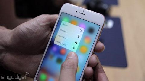 3D Touch của iPhone 6s sẽ có trên smartphone Android vào năm sau