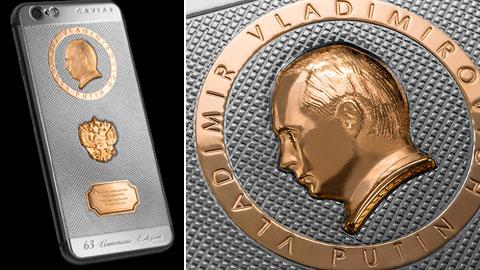 iPhone 6s phiên bản Putin chỉ sản xuất đúng 63 chiếc