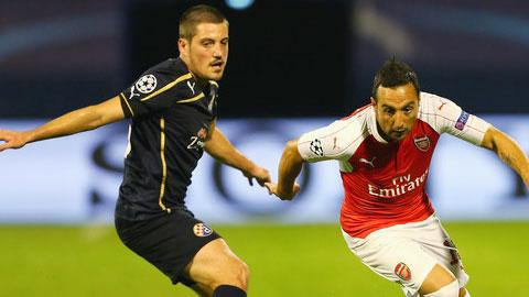Cầu thủ Dinamo Zagreb dính án doping, Arsenal có cơ hội được xử thắng
