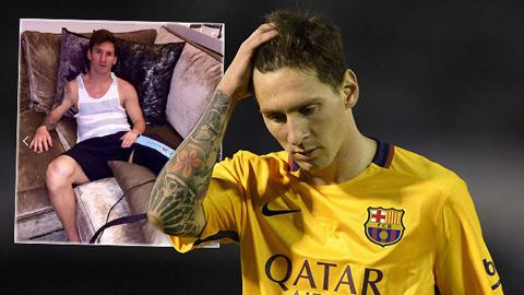 Bình thản trước cáo buộc trốn thuế, Messi tập trung chạy chữa chấn thương