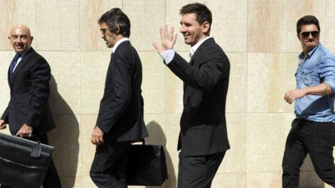 Messi nguy cơ ngồi tù 22 tháng: Đại diện Messi lên tiếng