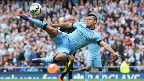 Aguero khả năng sẽ lỡ trận derby thành Manchester