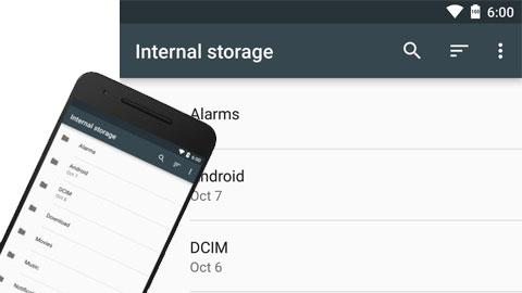 Trình quản lý file trên Android 6.0 giấu ở đâu?