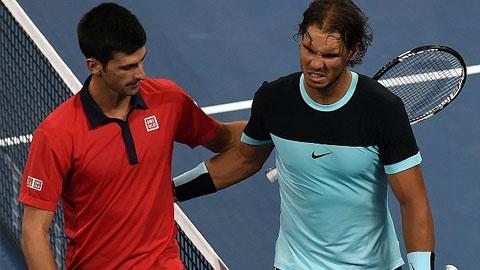 Nadal giờ không còn cơ hội thắng Djokovic nữa
