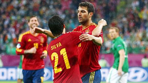 """ĐT Tây Ban Nha xứng danh """"Vua vòng loại"""""""