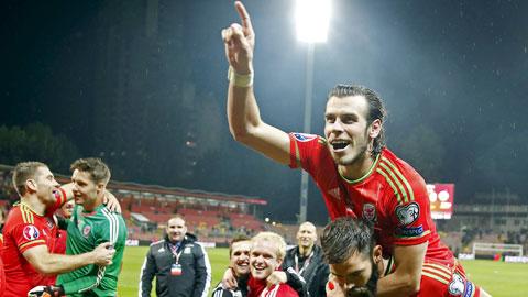 Gareth Bale đi vào huyền thoại của xứ Wales