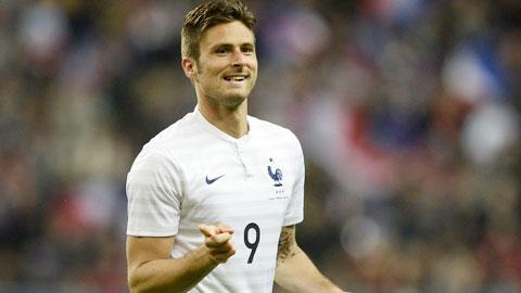 ĐT Pháp thắng 4 trận liền: Hàng công tìm lại niềm tin