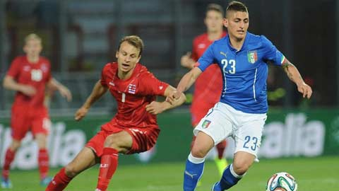 ĐT Italia: Đã tới thời của Verratti