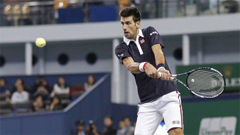 Djokovic, Nadal đi tiếp vào vòng 3 Thượng Hải Masters