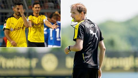 Thomas Tuchel và cuộc khủng hoảng mini tại Dortmund