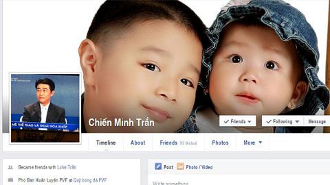 Khổ như cầu thủ, HLV bị mạo danh trên facebook