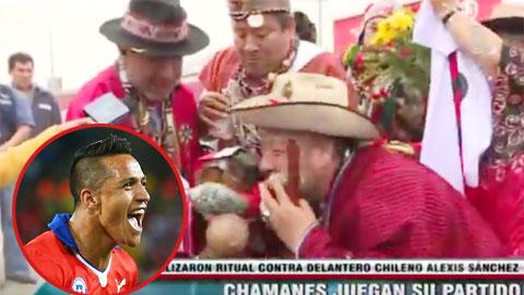 Bị yểm bùa, Sanchez vẫn lập cú đúp cho Chile