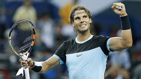Nadal hồi sinh mạnh mẽ, tiến vào bán kết Thượng Hải Masters