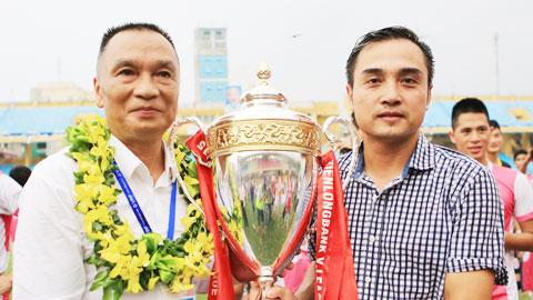 HLV Nguyễn Đức Thắng gắn bó với CLB Hà Nội