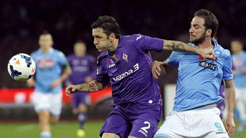 Fiorentina trước cuộc chạm trán Napoli: Thuốc thử mạnh cho đội đầu bảng