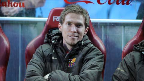 Hleb hối hận vì gây chiến với Guardiola khi còn ở Barca