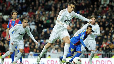 Đội hình dự kiến trận Real Madrid gặp Levante vòng 8 La Liga