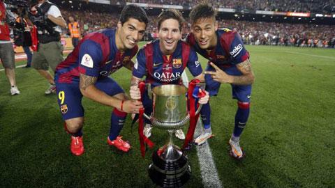 Bốc thăm vòng 1/16 cúp Nhà vua TBN: Barca, Real, Atletico dễ thở