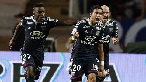 Monaco 1-1 Lyon: Cựu hậu vệ M.U giúp đội khách thoát hiểm