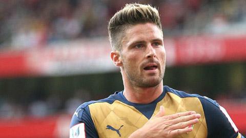 """""""Siêu dự bị"""" Giroud xứng đáng đá chính ở Arsenal"""