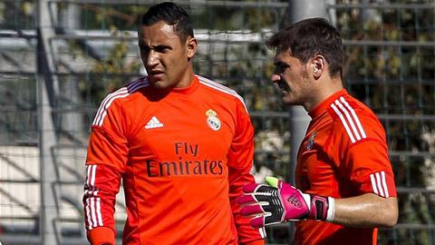 Navas đã thoát khỏi cái bóng của Casillas ở Real Madrid
