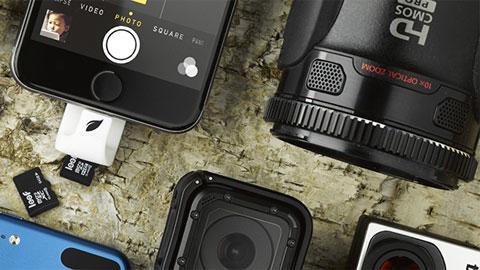 iPhone mở rộng bộ nhớ trong qua thẻ microSD nhờ Leef iAccess