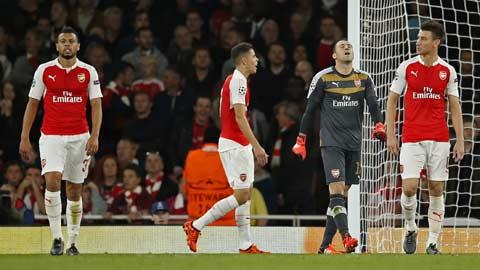Arsenal và hy vọng mong manh trụ lại Champions League