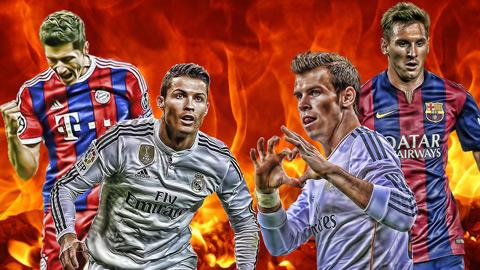 Đội chân trái của Messi vs đội chân phải của Ronaldo: Ai hơn ai?